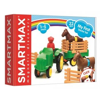 """Smartmax Магнитный конструктор """"Мой первый трактор"""" (SMX 222)"""