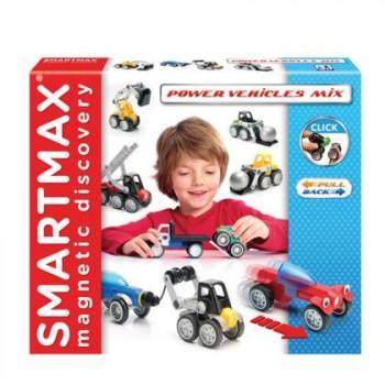 """Smartmax Магнитный конструктор """"Мощные машины (микс)"""" (SMX 303)"""
