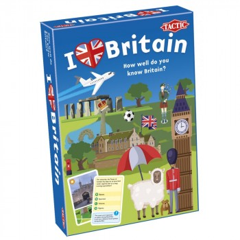 Настольная игра Tactic Я люблю Британию (англ) 56427