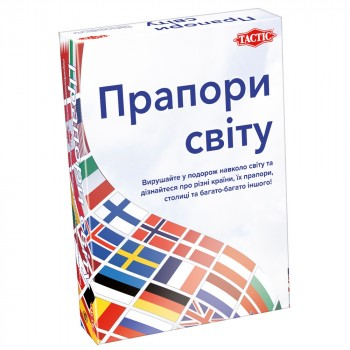 Настольная игра Tactic Флаги мира 58139