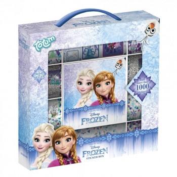 Totum Набор для творчества Frozen II Коробка 1000 стикеров 680388