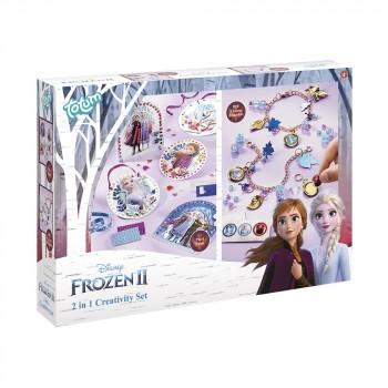 Totum Набор для творчества Frozen II Пиксельная аппликация и стильные браслеты 681194