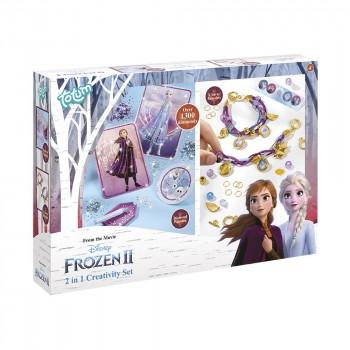Totum Набор для творчества Frozen II Бриллиантовая аппликация и стильные браслеты 682085
