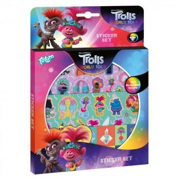 Totum Набор для творчества Trolls World Tour Набор стикеров 770201