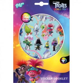 Totum Набор для творчества Trolls World Tour Набор 360 стикеров 770218