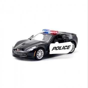 Машинка Chevrolet Corvette Grand Sport Police (554039P)