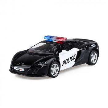 Машинка Mclaren 650s Police (554992P)