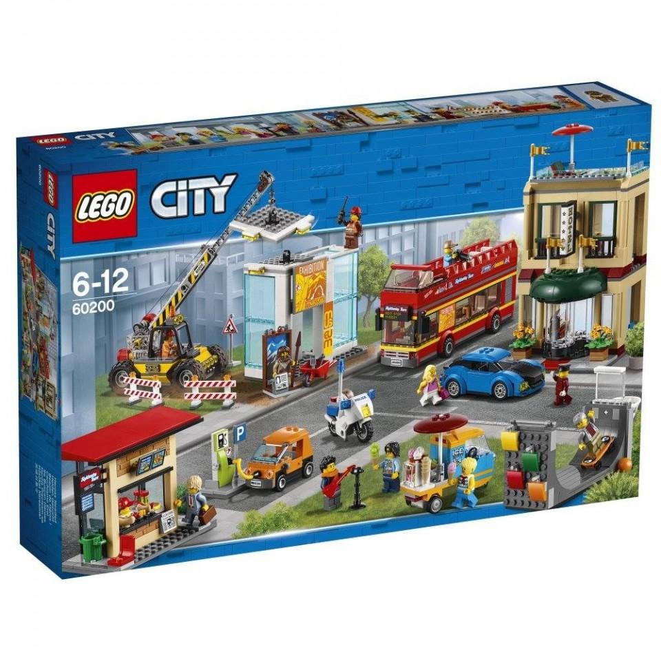 Lego City столица 60200 купить в Best Toy