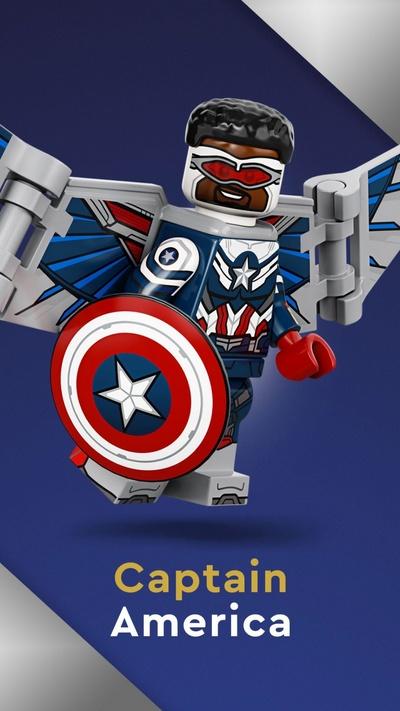 Капитан Америка (71031-05)